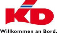Logo der Köln-Düsseldorfer-Schiffahrtgesellschaft - KD