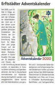 Talita Kumi e.V. - Adventskalender 2020