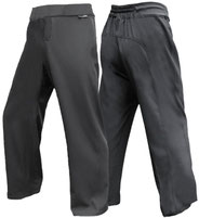 MARTIAL ARTS, KUNG FU and TAI CHI COMBAT TROUSERS BLACK