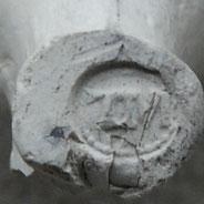 Hielmerk TM, waarschijnlijk Hoorn/Enkhuizen, ca 1640-1650