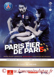 Programme  PSG-Reims  2014-15