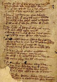 Manuscrito del Libro de Buen Amor