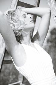 Haare & Make-up / Schüler: Marieme B.   Model: Charlotte   Agency: JAVA People Management   Produktion: bloos Make-up & Hair Academy   Foto: Markus Thiel