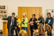10.11.2013 Ausstellungseröffnung Schloss Beichlingen