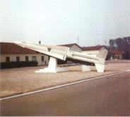 missile NIKE, avec l'écusson de l'école