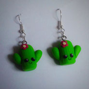 Kawaii Cactus Earrings