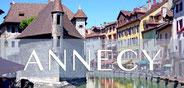 Annecy en Haute-Savoie