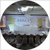 Audio e iluminación durante un congreso KLS