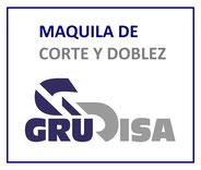MAQUILA DE CORTE Y DOBLEZ DE LÁMINA GruDisA