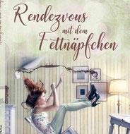 Delmenhorster Schriftstellerin Katy Buchholz / Unterhaltungsliteratur / Frau sitz auf einem Stuhl und kippt um