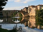 Le pont des Cieutat à Villeneuve sur lot