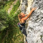 Klettern Lechtal Bergführer