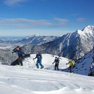 Skitour Lechtal Tirol Bergführer