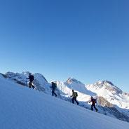 Skitour Lechtal Bergführer