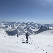 Skitour Hoch Tirol Silvretta Ötztaler Durchquerung Biz Bernina Bergführer