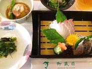 御蔵島ドルフィンスイム:御蔵荘夕食