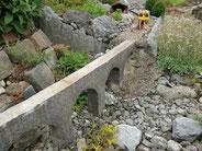 Juli - Renovierung Steinstafelviadukt