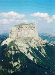 Mont-Aiguille, de 2 points de vue