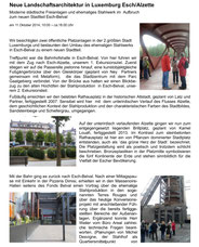 Exkursion Luxemburg Esch/Alzette