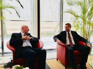 21.3.2018 Beijing bei Botschafter Michael Clauß