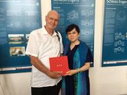 31.5.2018: Präsidentin Li Xiaolin zu Gast in RLP