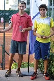 Sieger: Guillaume Du, R2, (rechts), Finalist: Rony Martin, R2, (links): 6/4,4/6,6/1
