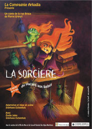 La Sorcière du placard aux balais  Théâtre de la Cité 30 octobre 2019