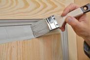 Puertas de pino (pintura-barniz)