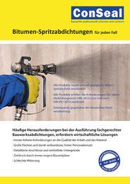 ConSeal Bitumen-Spritzabdichtungen
