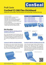 Prospekt CS 580 Flex-Dichtband