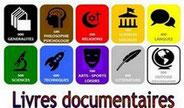 """rubrique """"Livres documentaires"""""""