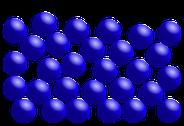 Teilchenmodel: flüssig Q: Wikipedia.
