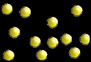 Teilchenmodel: gasförmig Q: Wikipedia.