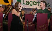 mit Anna Fuchsberger beim Bezirksmusikfest St.Marien 2011