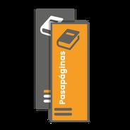 Marca páginas o punto de lectura personalizados. Impresos a todo color más laminado brillo o mate.