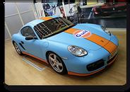 Porsche Cayman GULF