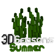 3D Seasons Summer Logo