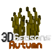 3D Seasons Autumn Logo