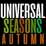 Universal Seasons Autumn Logo