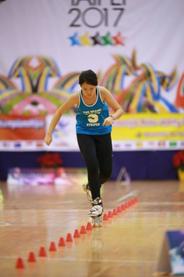 2013 World Champion Wang Tzu Chien (TPE). Credit: Wang Hsuan Fu