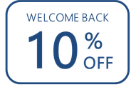 come back and get 10% off