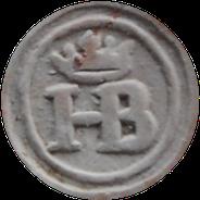HB monogram gekroond