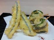 サヨリの天ぷら