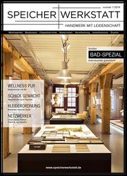 Titelseite Magazin SPEICHERWERKSTATT - Ausgabe 1/2014