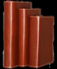 Buchhüllen / Buchschoner aus Leder