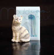 Katze MouldManufaktur Silikonform Mould Fondant