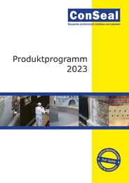 ConSeal Produktprogramm 2018