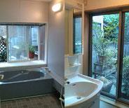 共同浴室、洗面所