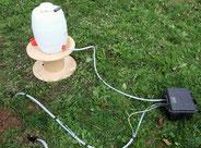 Mesure de la perméabilité du sol