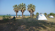 Campingplatz am Hotel Dereli